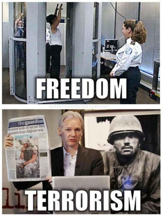 FREEDOM / TERRORISM