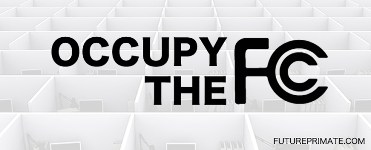 OPEN INTERNET BACKERS STAGE 'OCCUPY FCC'