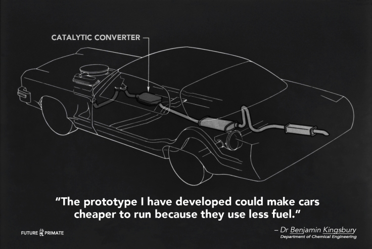 New catalytic converter could cut fuel consumption and car manufacturing costs