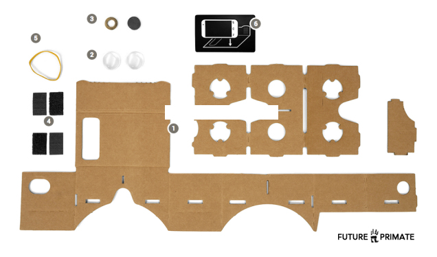 Google Cardboard Turns Android Into a DIY Virtual Reality Headset