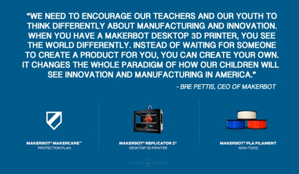 Calling all Teachers: MakerBot Academy Promotes 3D Printers in the Classroom