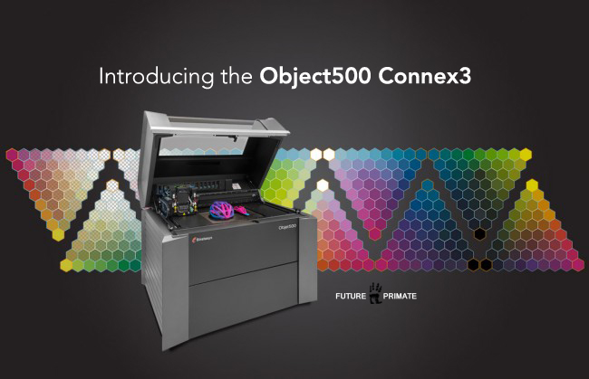 Stratasys unveils multi-material color 3D printer
