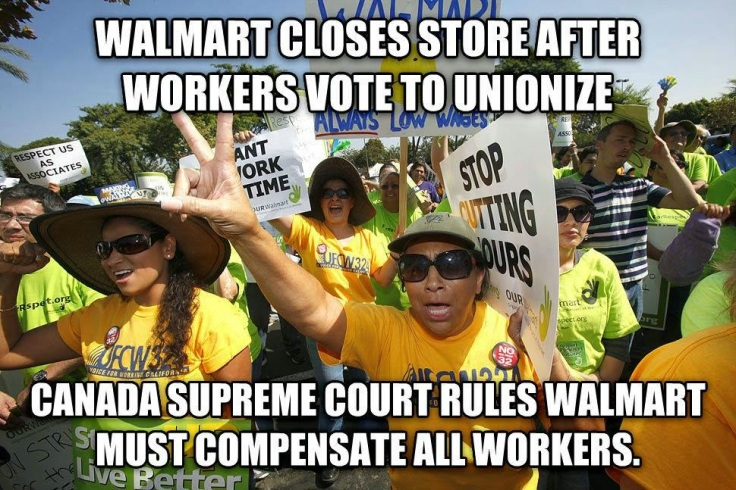 Court rules Wal-Mart must compensate workers from Quebec