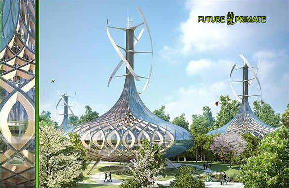 This Amazing Eco-High-Tech Concept Envisions Eco-Friendly, Energy-Producing Eco-District Community